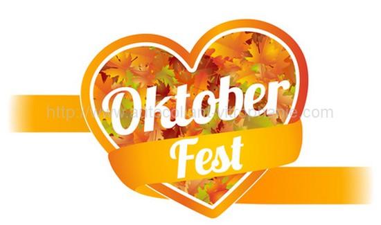 Oktoberfest autocollant